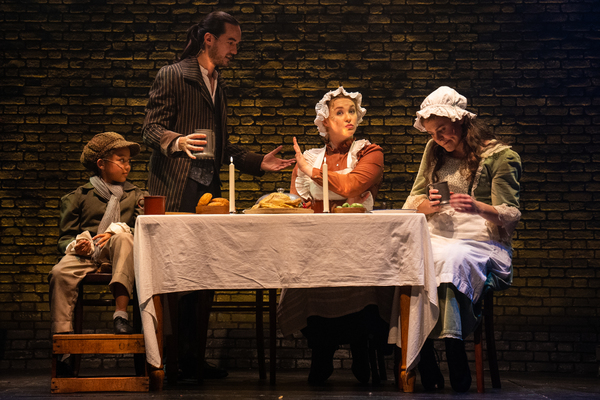 Photo Flash: First Look at Photos From The Barn Theatre's Built By Barn Production of A CHRISTMAS CAROL