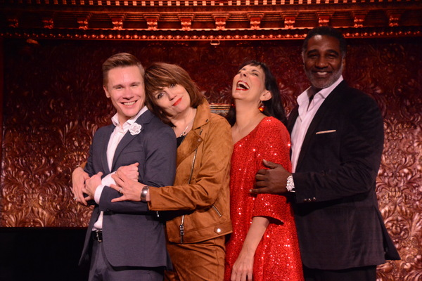 Seth Sikes, Beth Leavel, Christine Pedi and Norm Lewis Photo