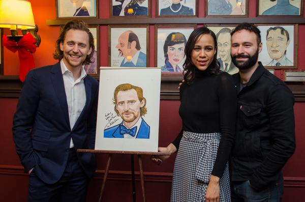 Tom Hiddleston, Zawe Ashton and Eddie Arnold Photo
