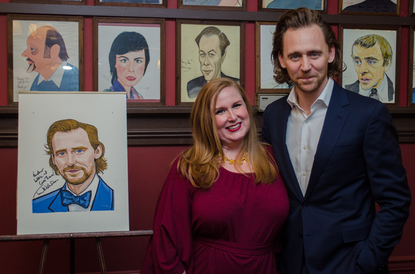 Tom Hiddleston and Julie James Photo
