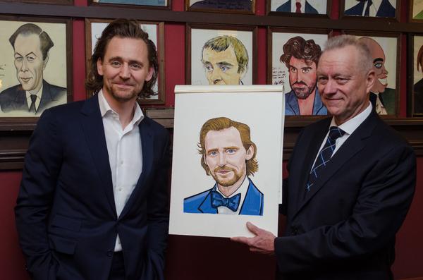 Tom Hiddleston and Max Klimavicius Photo