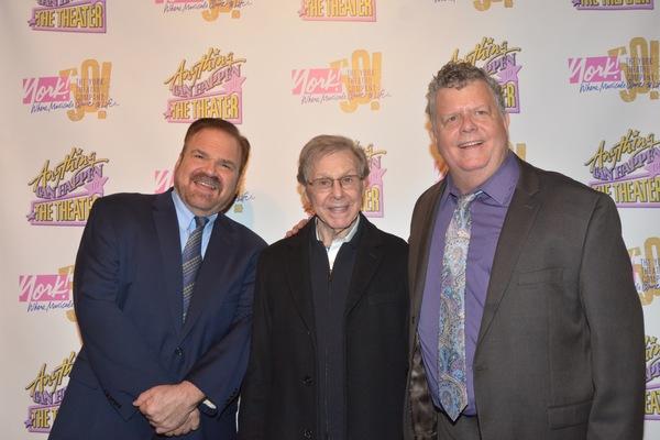 Gerard Alessandrini, Maury Yeston and James Morgan Photo