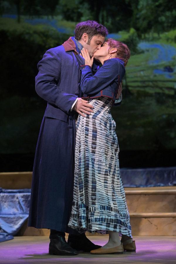 Mr. Darcy (Justin Mortelliti) and Elizabeth (Mary Mattison) Photo