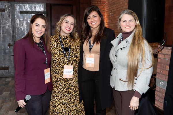 Michelle Fine-Smith (Variety), Amanda Fraga (Live Nation), Lina Caceres (Latin World  Photo