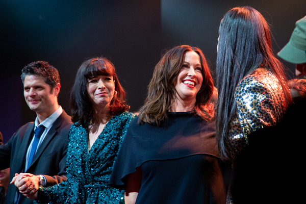 Photo Coverage: Alanis Morissette Joins JAGGED LITTLE PILL Cast for Opening Night Bows!