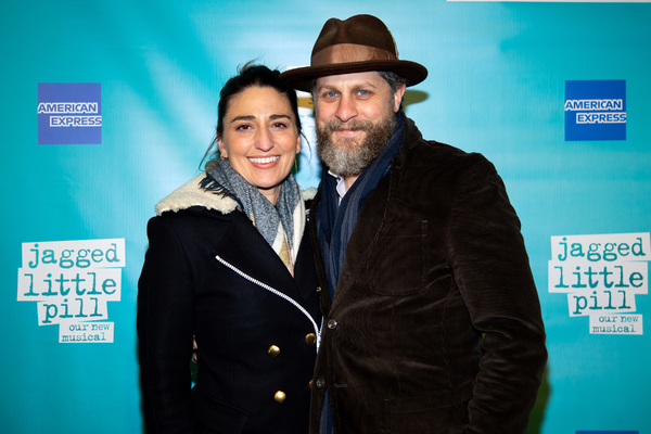Photo Coverage: Alanis Morissette & More Walk the Opening Night Red Carpet at JAGGED LITTLE PILL