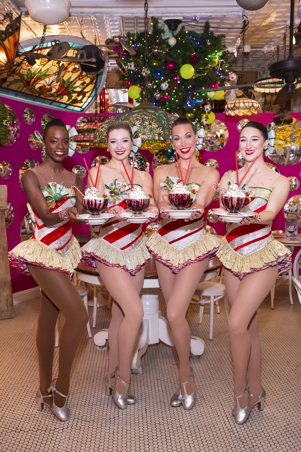 Photos: Rockettes Unveil Limited-Edition Rockettes Raspberry Frrrozen Hot Chocolate at Serendipity 3