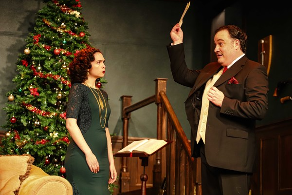 Photo Flash: HOLMES FOR THE HOLIDAYS At Tacoma Little Theatre
