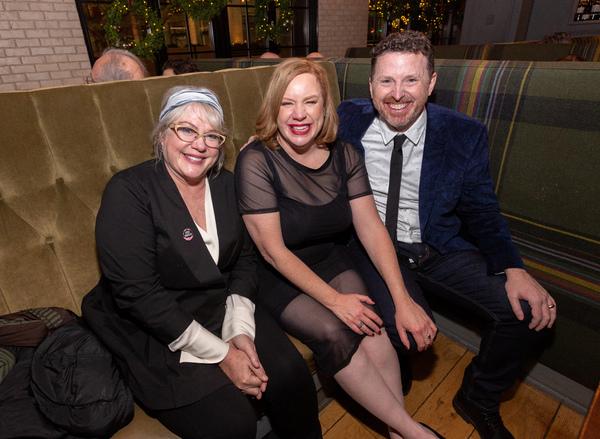 Julia Sweeney, Celeste Pechous and Tim Mason Photo