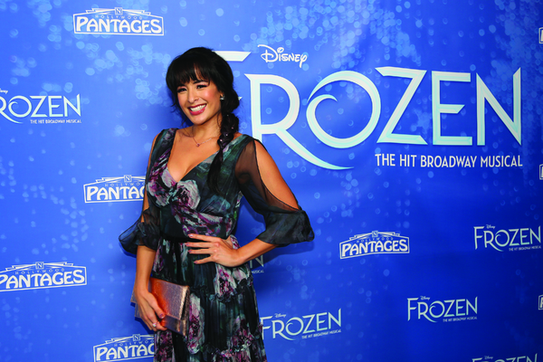 Photo Flash: Caroline Bowman, Caroline Innerbichler, and More Celebrate Opening Night of FROZEN on Tour!