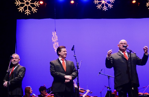 Photo Coverage: The Irish Tenors Start Their Holiday Tour in New Jersey