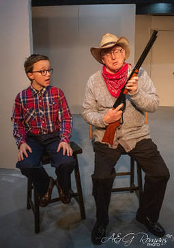 BWW Review: A CHRISTMAS STORY at Ankeny Community Theatre: A Tale of Two Christmas Stories Part 1
