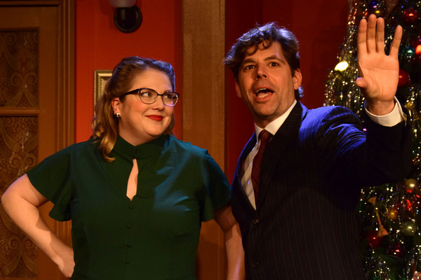 Photo Flash: First Look at THE MAN WHO CAME TO DINNER at the Lonny Chapman Theatre