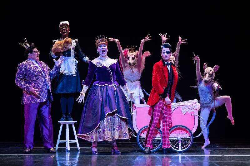 BWW Review: THE HARD NUT at Paramount Theatre Is a Mix of Comedy and Dancing Spectacle