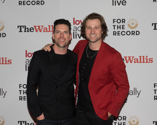 Chris Mann and Jon Robert Hall Photo
