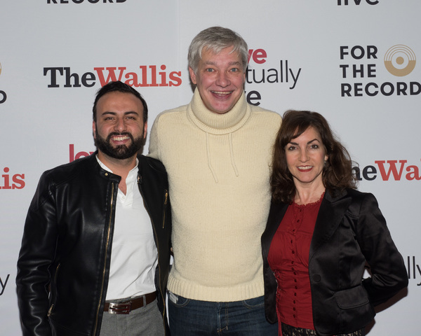 Agasi Nazaryan, Christopher Youngsman, and Angela Pupello Photo