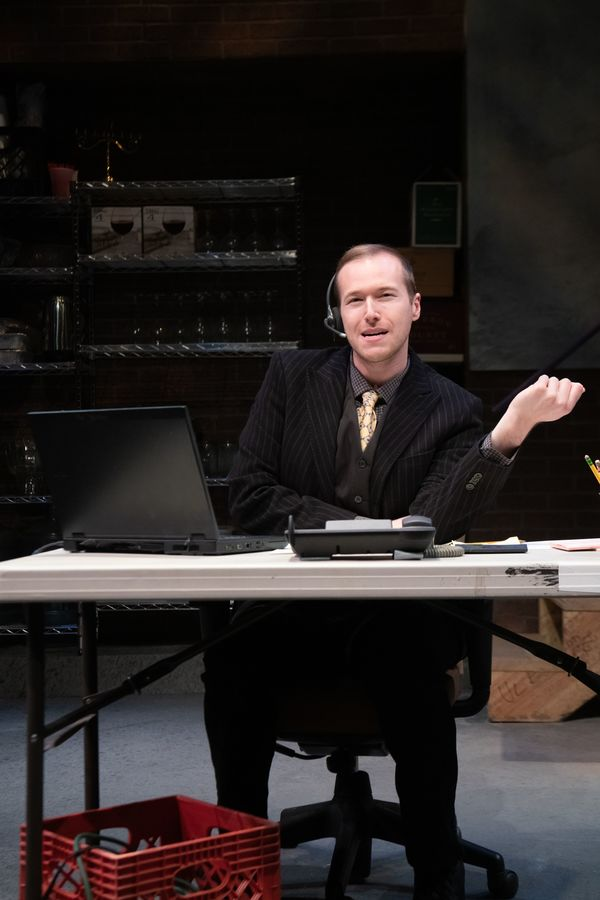 Photo Flash: Check Out New Photos of The New Jewish Theatre's FULLY COMMITTED