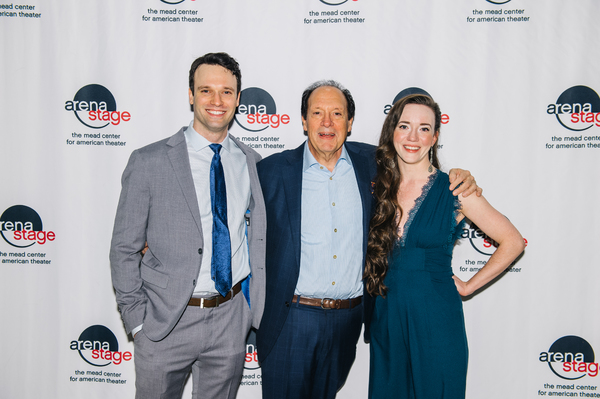 Jake Epstien, Ken Ludwig and Amelia Pedlow  Photo