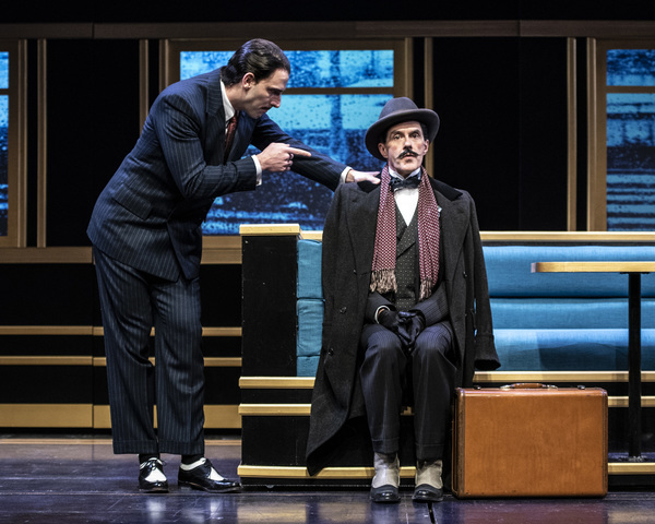 Photo Flash: Check Out Photos From Everyman Theatre's Production of MURDER ON THE ORIENT EXPRESS