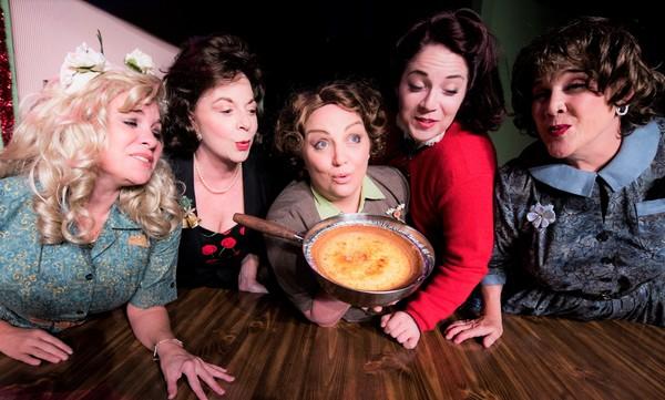 Photo Flash: Meet The Cast of FIVE LESBIANS EATING A QUICHE At Austin City Theatre