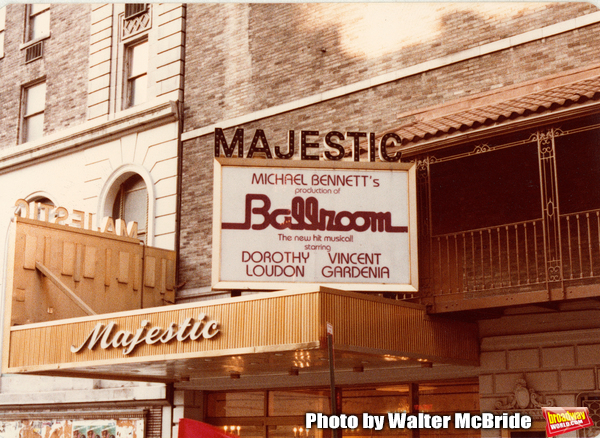 Theatre Marquee for Dorothy Loudon starring in a Michael Bennett production of BALLRO Photo