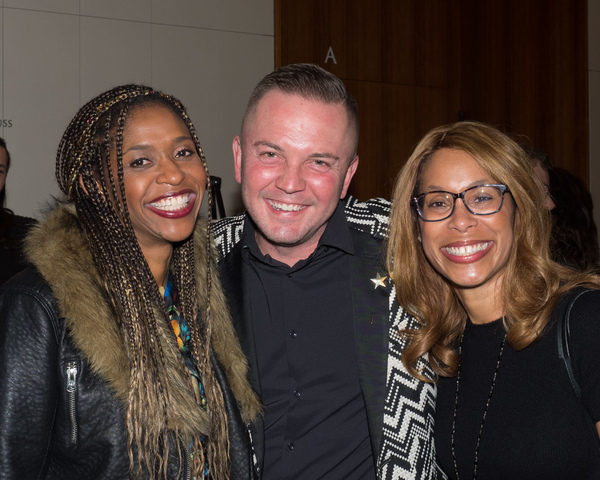 Merrin Dungey, Shane Scheel, and Channing Dungey Photo