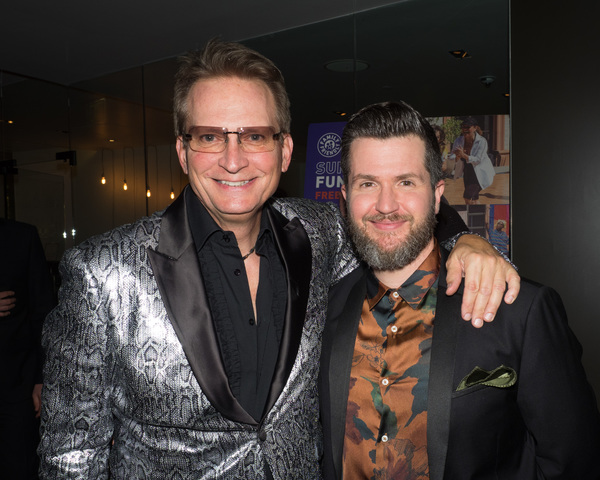 Rex Smith and Doug Kreeger Photo