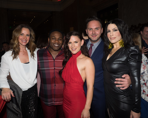 Ginifer King, Rogelio Douglas Jr, Carrie Manolakos, Edward Allen, and Tomasina Abate Photo