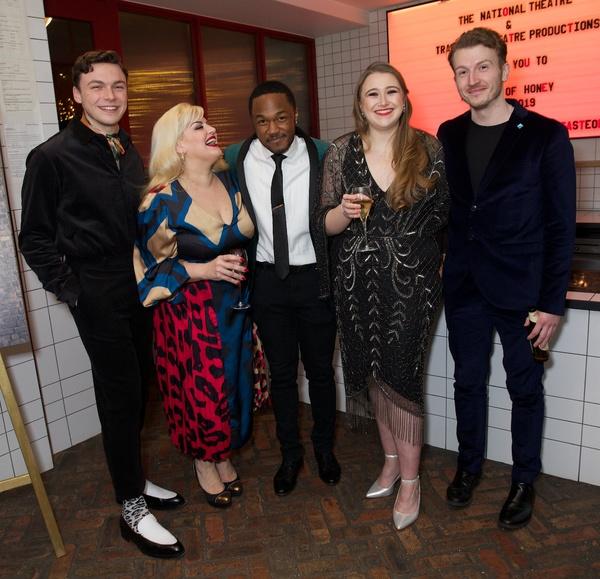 Stuart Thompson,Jodie Prenger, Durone Stokes, Gemma Dobson & Tom Varey   Photo