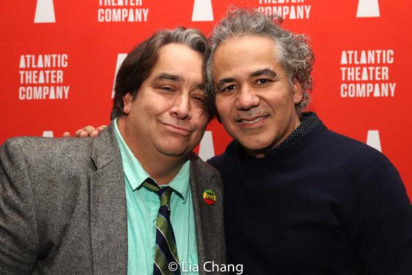 Stephen Adly Guirgis & John Ortiz