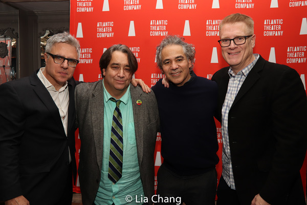 Neil Pepe, Stephen Adly Guirgis, John Ortiz & Jeffory Lawson