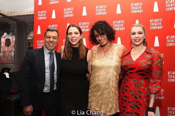 Dave Anzuelo, Molly Collier, Esteban Andres Cruz & Andrea Syglowski  Photo
