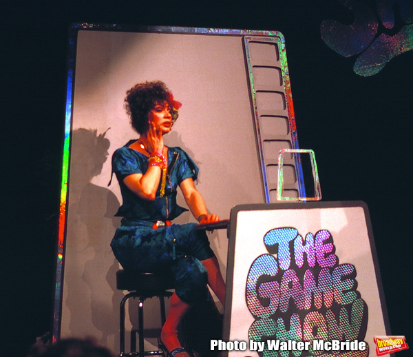 Photo Flashback: Holly Woodlawn Appears In THE GAME SHOW Off-Broadway