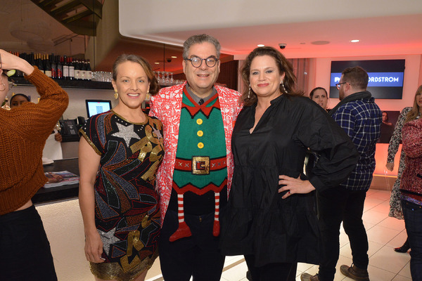 Alice Ripley, Michael Musto, and Cady Huffman Photo