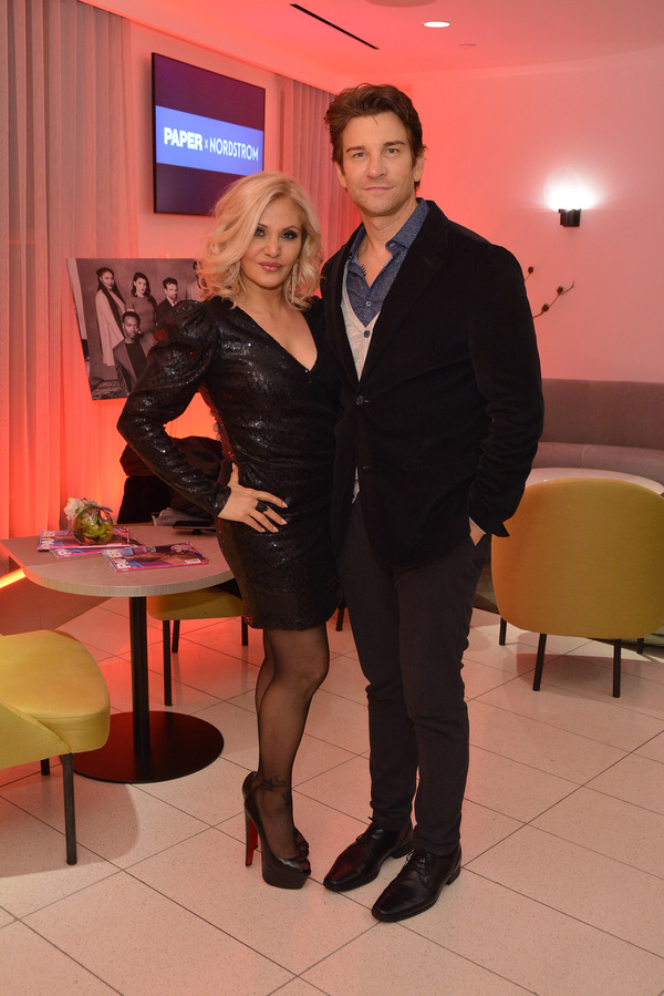 Photo Flash: Alice Ripley, Andy Karl, Orfeh, And More Attend Paper Magazine's Broadway Roundup Launch