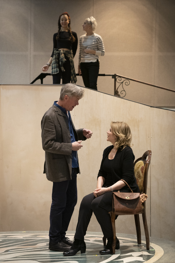 Photo Flash: Renee Fleming and More in Rehearsal For THE LIGHT IN THE PIAZZA in Chicago