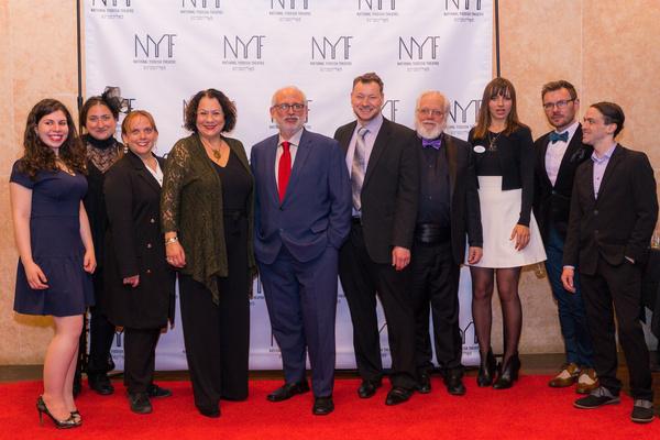 Photo Flash: National Yiddish Theatre Folksbiene Celebrates THE SORCERESS Opening Night