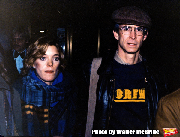 Photo Flashback: Berry Berenson Perkins and Tony Perkins Attend a Broadway Show in 1979