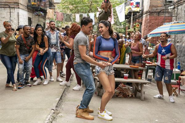 Anthony Ramos and Melissa Barrera Photo