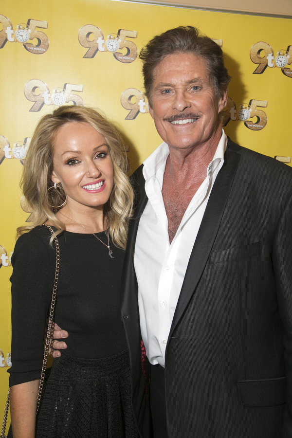 Hayley Roberts Hasselhoff and David Hasselhoff (Franklin Hart Jr) Photo