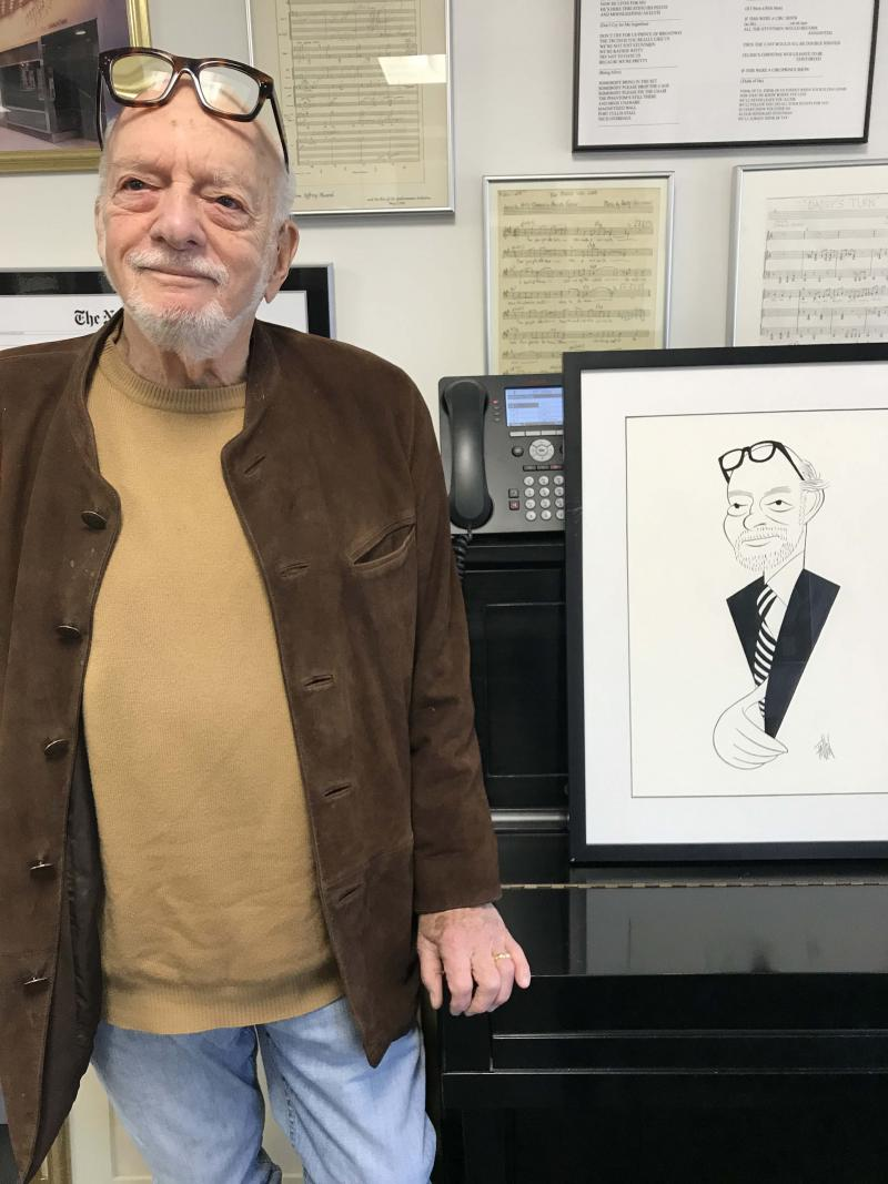 BWW Exclusive: Ken Fallin Draws the Stage - Harold Prince