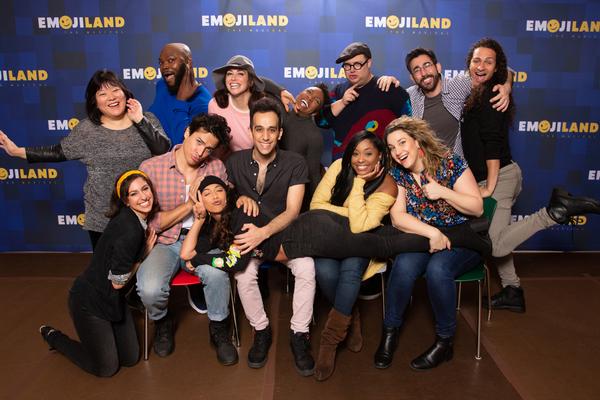 Photo Flash: First Look at EMOJILAND Rehearsal Photos with Lesli Margherita, Josh Lamon and More