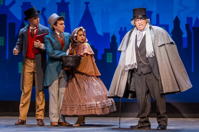 BWW Review: A CHRISTMAS CAROL – THE MUSICAL at Crossroads Theatre Company is a Grand Stage Show