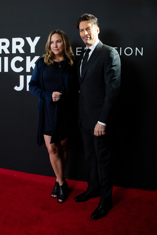 Jill Goodacre, Harry Connick Jr. Photo