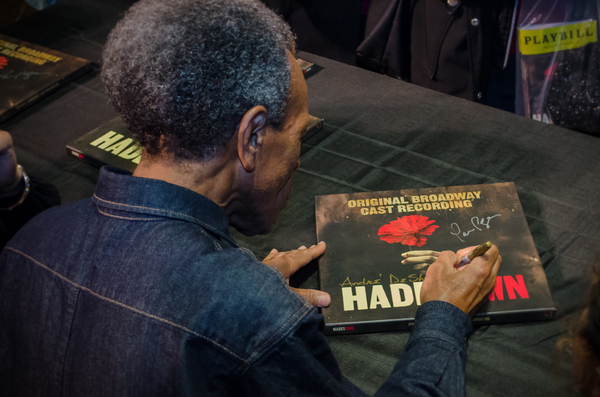 Photo Coverage: HADESTOWN Company Signs Cast Recording on the Walter Kerr Stage!