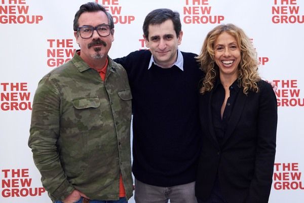Duncan Sheik, Jonathan Marc Sherman, Amanda Green Photo