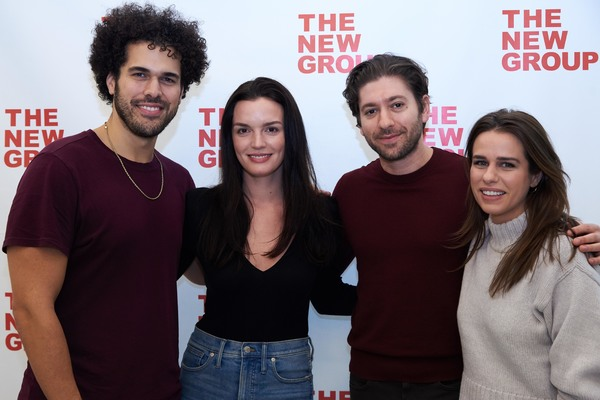 Photo Flash: Go Inside Rehearsals for the New Group's BOB & CAROL & TED & ALICE