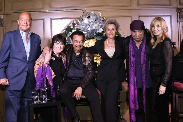 Larry Weissfeld, Magda Kat, Gary U.S. Bonds, Jane Shevell, Steven Van Zandt and Maure Photo