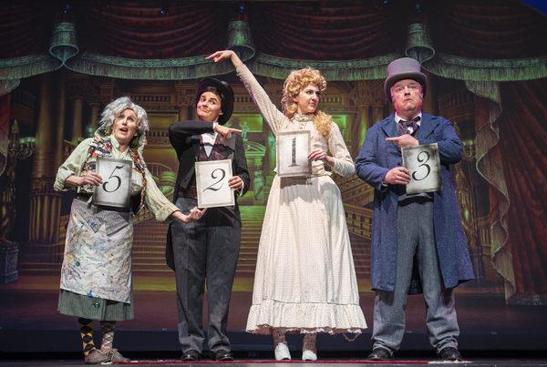 Linda Piccone, Chloë Angst, Brenna Sammon, and John Mannion Photo