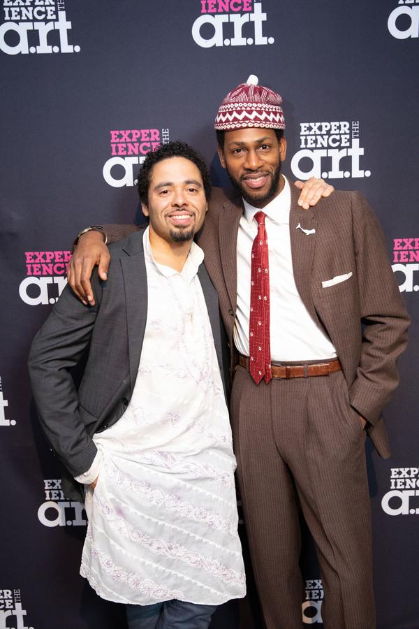 J.D. Mollison (Daggoo) and Eric Berryman (Fedallah) Photo